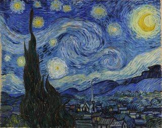 """Notte stellata"" di Vincent Van Gogh"